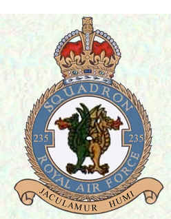 235 Squadron Motif