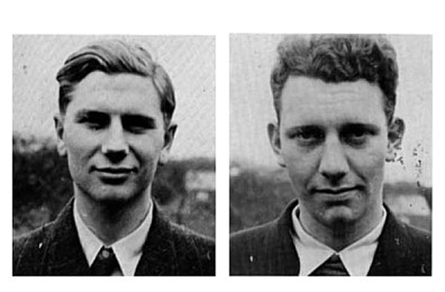 Ray Harington and Bert Winwood