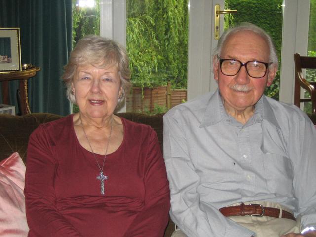 Ray and Betty Harington 2008