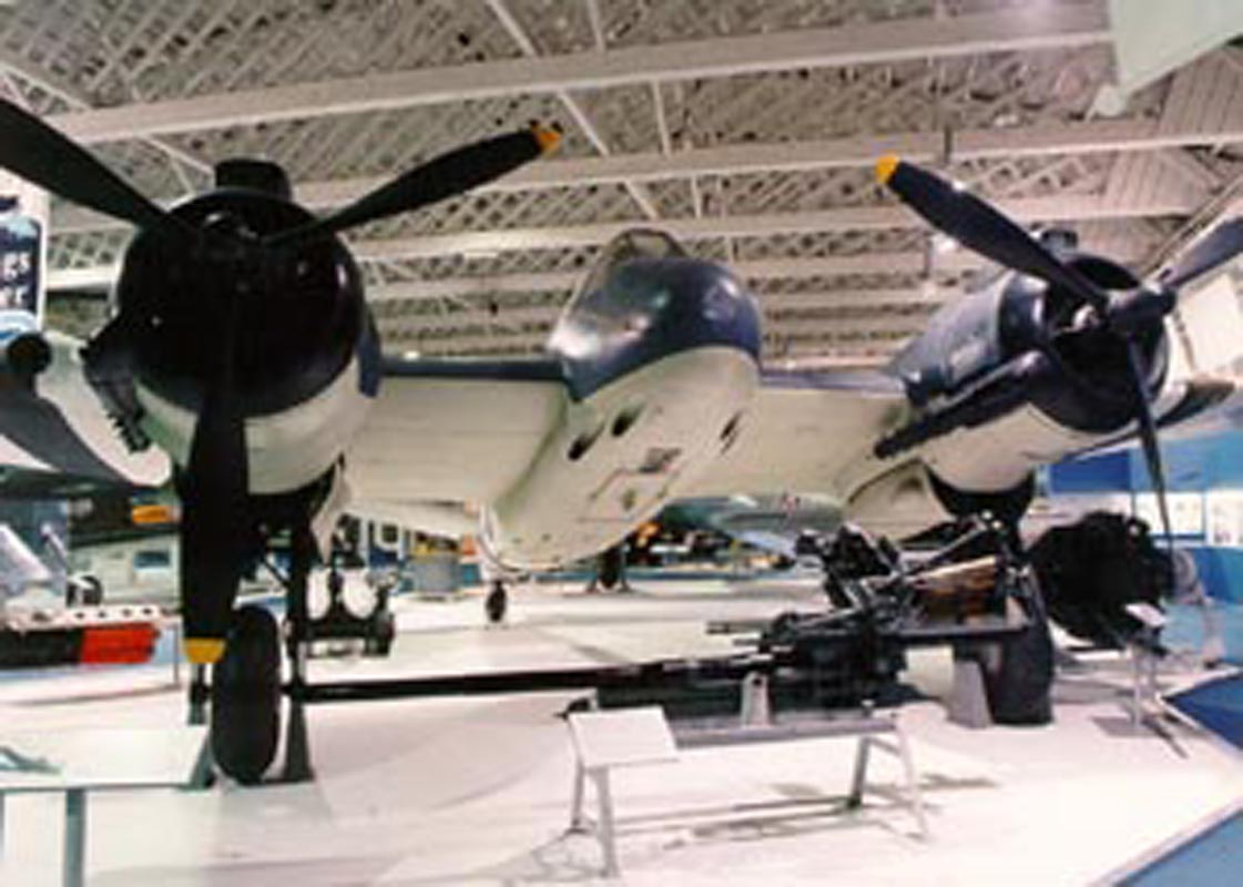Beaufighter at RAF Hendon.