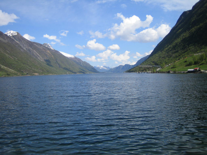 View of Dalsfjord from Steinsvik
