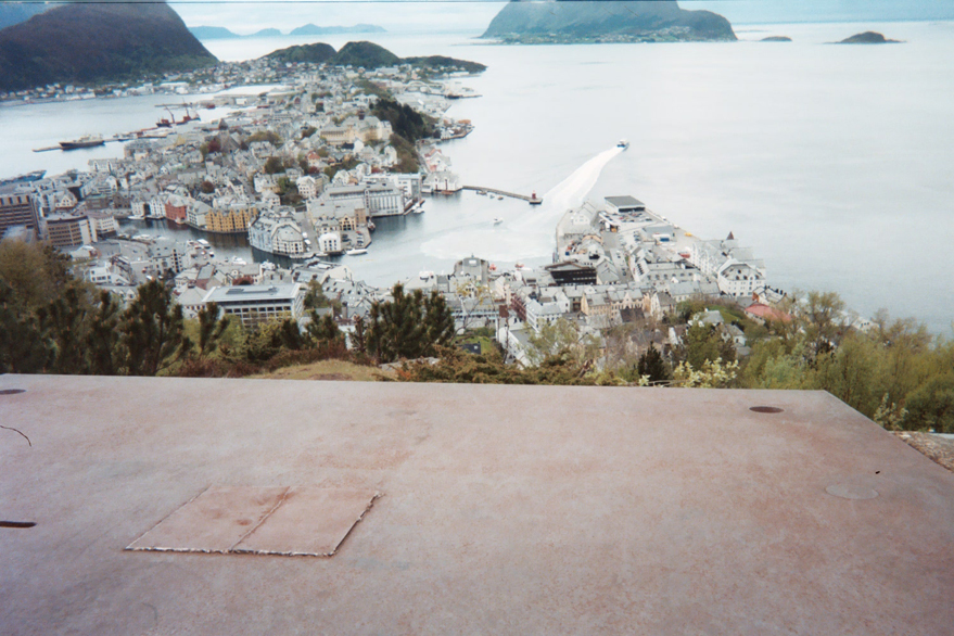 Aalesund from the top of the Town Mountain, Aksla