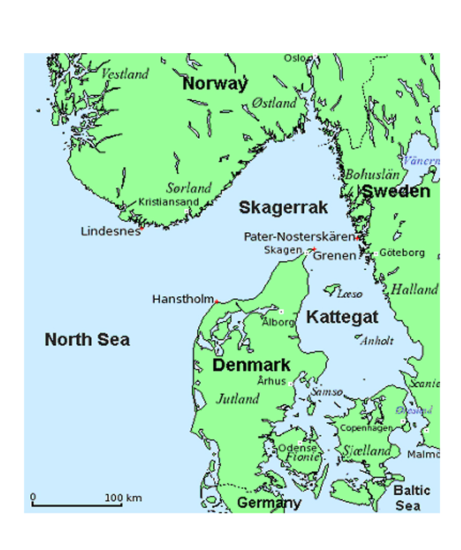 Kattegat Map